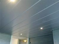 Lamellen plafond | MDF plafond | Luxalon badkamer plafond